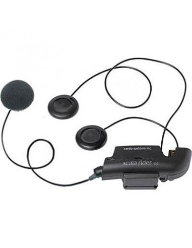 G4 CARDO SCALA RIDER MICROPHONE WIRE WITH ACCESSORIES