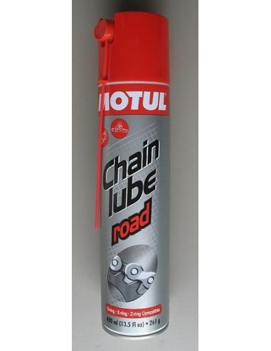 Grease for chains Motul 400 ml suitable for all types of motorcycle chains chainlube road