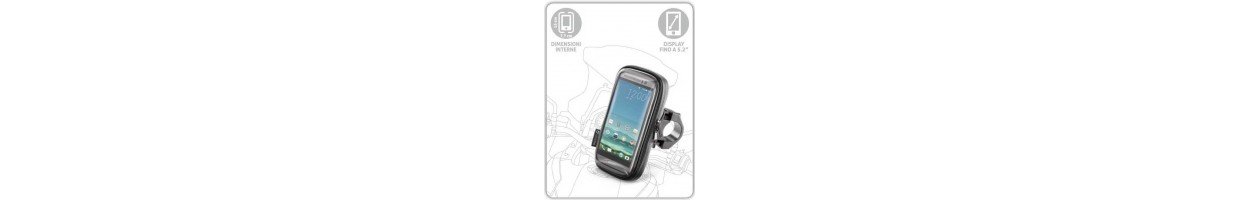 Telephone support and Navigator for motorcycle